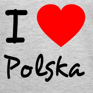 I LOVE POLSKA Tanks - Women's Premium Tank Top