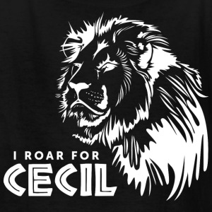 I Roar For Cecil Kids' Shirts - Kids' T-Shirt