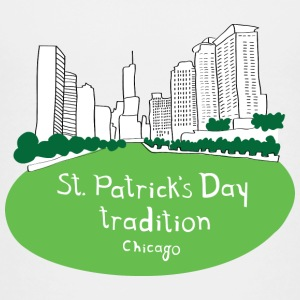 St. Patrick's Day Green River Chicago Baby & Toddler Shirts - Toddler Premium T-Shirt