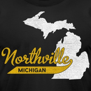 Classic Northville Michigan Pride T-Shirts - Men's T-Shirt by American Apparel