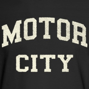 Classic Motor City Detroit Varsity Long Sleeve Shirts - Men's Long Sleeve T-Shirt