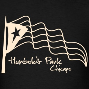 Humboldt Park Chicago Neighborhood T-Shirts - Men's T-Shirt