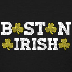 Boston Irish Shamrocks Distressed Style Women's T-Shirts - Women's T-Shirt