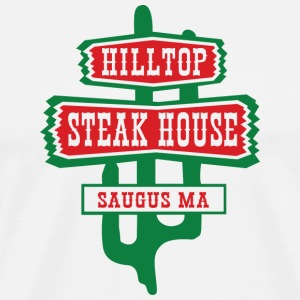 Throwback Boston Hilltop Steak House Classic T-Shirts - Men's Premium T-Shirt
