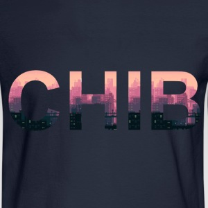 CHIB de la 8-Bit - Men's Long Sleeve T-Shirt