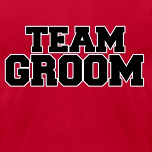 Team Groom - Men's T-Shirt by American Apparel
