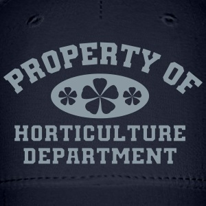 Property Of Horticulture Department - Baseball Cap