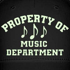 Property Of Music Department Caps - Baseball Cap