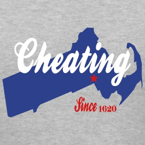 Cheating Since 1620 Deflategate Women's T-Shirts - Women's V-Neck T-Shirt