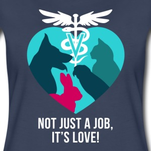 not just a job Women's T-Shirts - Women's Premium T-Shirt