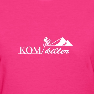 King of Mountain cycling shirt strava - Women's T-Shirt