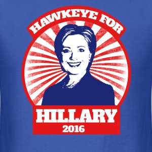 Hawkeye for Hillary Clinton 2016 Iowan  - Men's T-Shirt