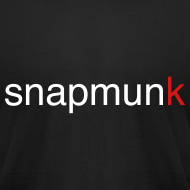 Design ~ Snapmunk Fitted T-Shirt
