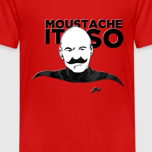 Moustache It So Kids' Shirts - Kids' Premium T-Shirt
