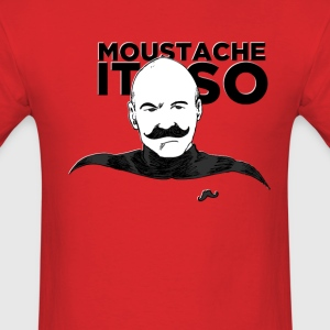Moustache It So T-Shirts - Men's T-Shirt