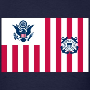 Coast Guard Ensign T-Shirts - Men's T-Shirt