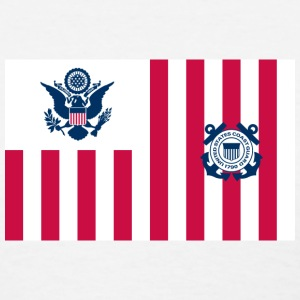 Coast Guard Ensign Women's T-Shirts - Women's T-Shirt