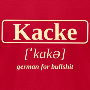 bullshit kacke - Men's T-Shirt by American Apparel