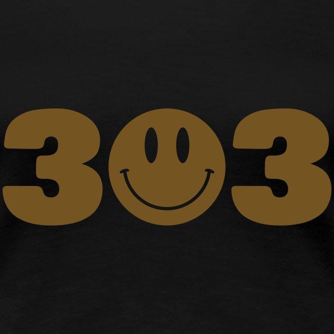 3O3 Gold Gliz Shirt