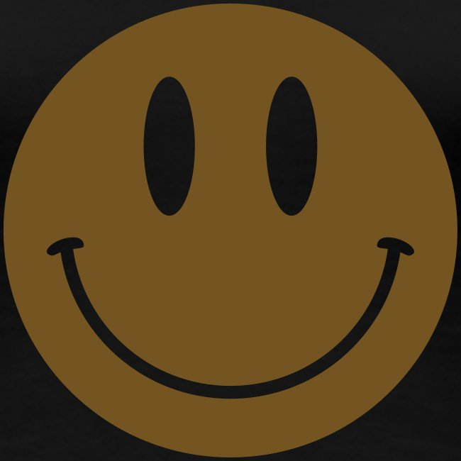 Smiley Gold Gliz Shirt