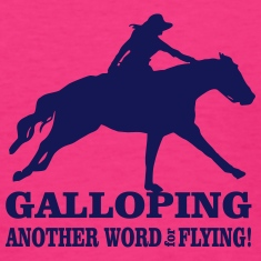 Galloping - Horse Women's T-Shirts