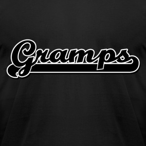 Gramps Grandpa - Men's T-Shirt by American Apparel