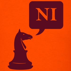 The Knights Who Says Ni - Men's T-Shirt