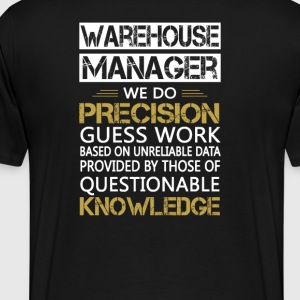 WAREHOUSE MANAGER - Men's Premium T-Shirt
