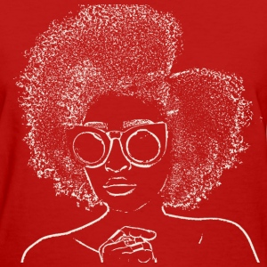 Cool Fro white  - Women's T-Shirt