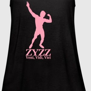Ladies Flowy Tank Top Zyzz Veni, Vidi, Vici - Women's Flowy Tank Top by Bella