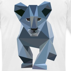 Blue Crystal Cub T-shirt - Men's T-Shirt by American Apparel