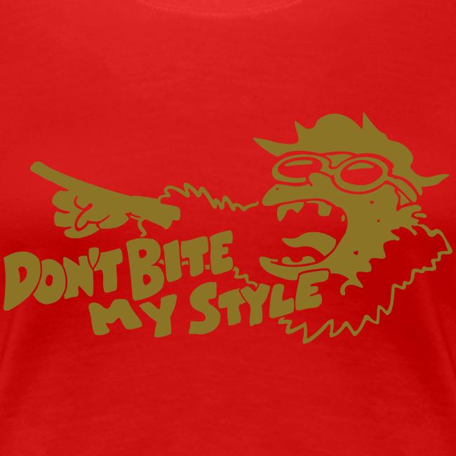 Don't Bite My Style - Metallic - Gold - Ladies