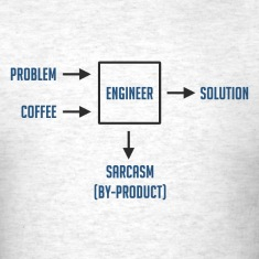 Engineering Sarcasm By-product T-Shirts