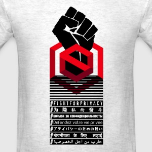 Shadowcash - fightforprivacy - Men's T-Shirt