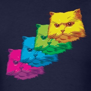 Fluorescent cat T-Shirts - Men's T-Shirt