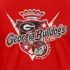 Georgia Bulldog Retro