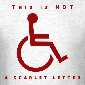 Not a Scarlet Letter Men's Tee - Men's T-Shirt