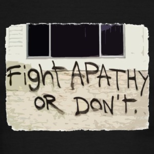 Fight Apathy or Don't - Men's Ringer T-Shirt