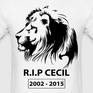 R.I.P Cecil Lion T-Shirts - Men's T-Shirt