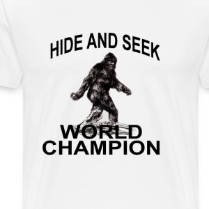 bigfoot_hide_and_seek_world_championtshi - Men's Premium T-Shirt