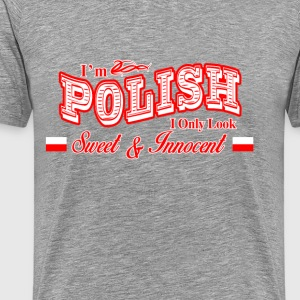 I'am Polish T-Shirts - Men's Premium T-Shirt