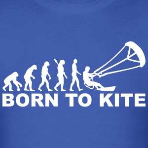 Evolution Born to Kite T-Shirts - Men's T-Shirt