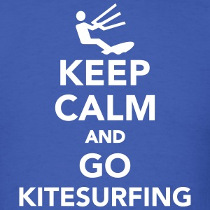 Keep calm and go Kitesurfing T-Shirts - Men's T-Shirt
