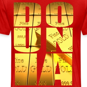 gold dounia  - Men's Premium T-Shirt