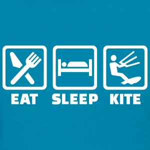 Eat Sleep Kite Women's T-Shirts - Women's T-Shirt
