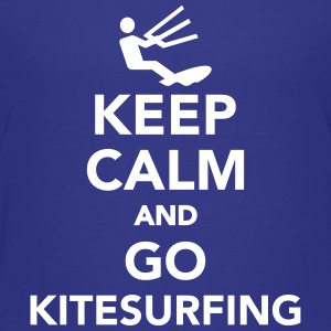 Keep calm and go Kitesurfing Kids' Shirts - Kids' Premium T-Shirt