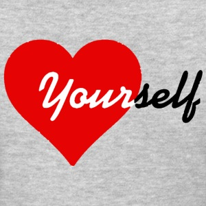 Love yourself heart Ladies Shirt - Women's T-Shirt