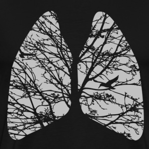 lungs T-Shirts - Men's Premium T-Shirt