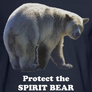 Protect the Spirit Bear - Men's Long Sleeve T-Shirt