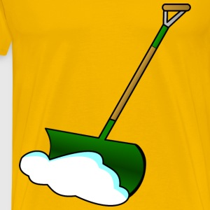 Snow Shovel - Men's Premium T-Shirt